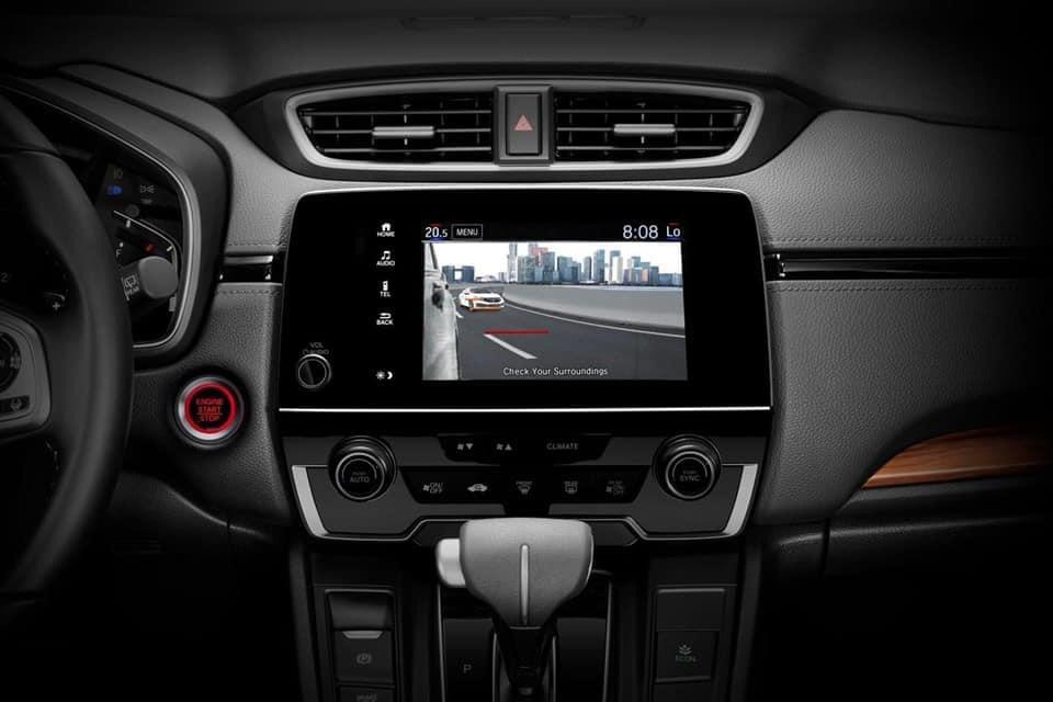 Camera chiếu hậu hỗ trợ tính năng cảnh báo giao thông