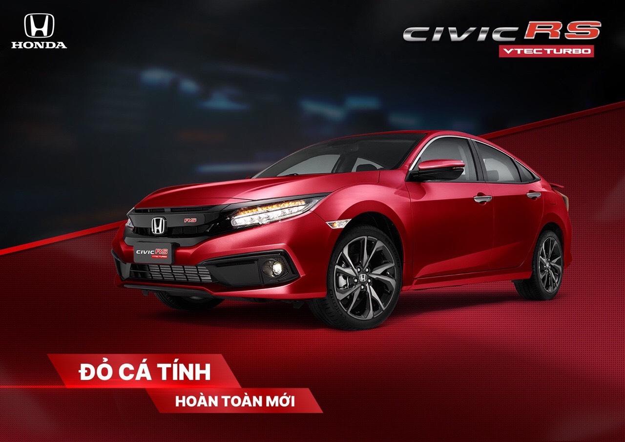 màu mới Civic RS 2020