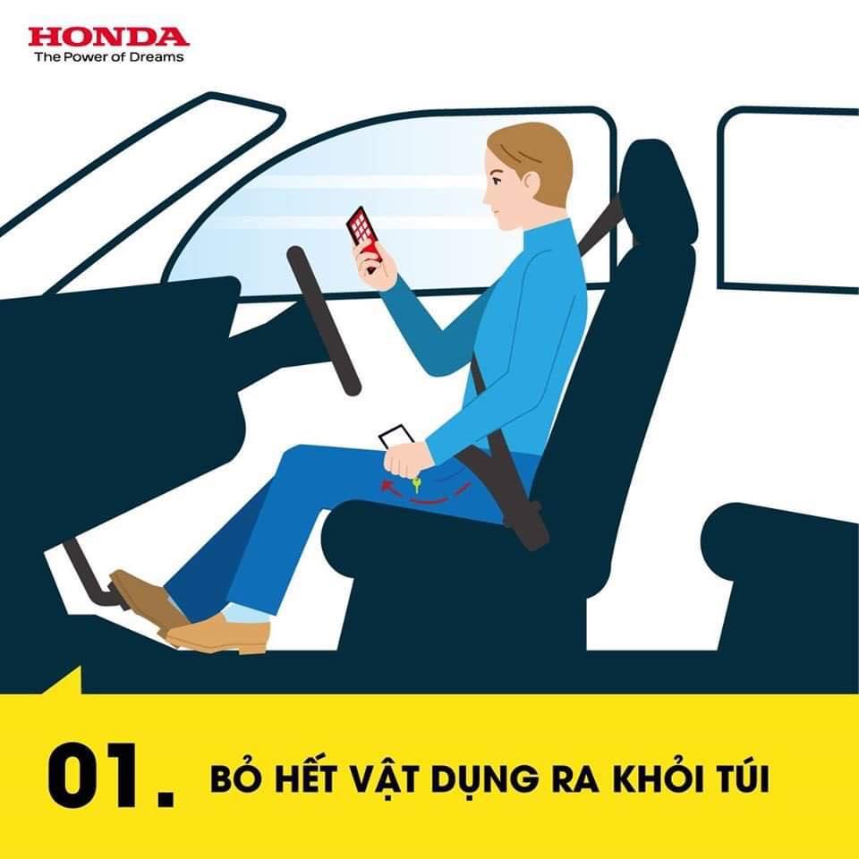 Tư thế lái xe an toàn cơ bản cho người mới !